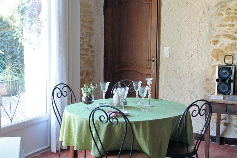Restaurant La Mandarine, Piolenc, Vaucluse, table d'hôte