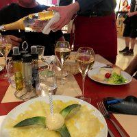 La Mandarine, dessert, repas entre amis, repas de fête, anniversaire
